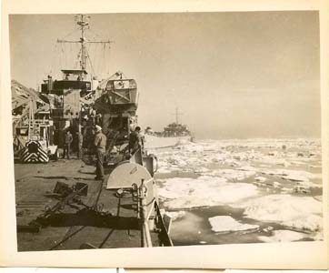 USS Summit County - LST 1146 1953