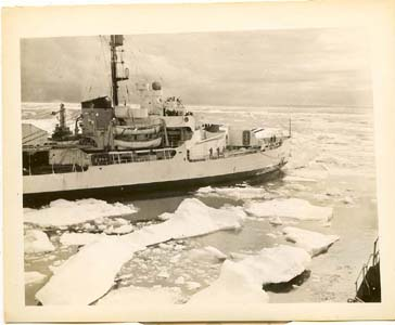 Coast Guard Ice Breaker 1953