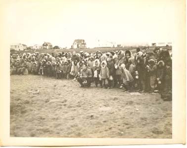 Alaskan Natives Watched Baseball Game 1953