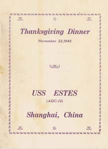 Thanksgiving 1945